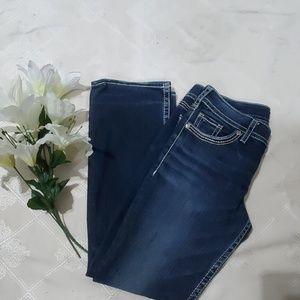 Silver Jeans Jeans - Silver Jean's Suki White Stitching Size30/31